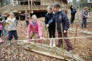 primary school class visit hampshire sustainability